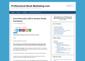 professionalbookmarketing.com