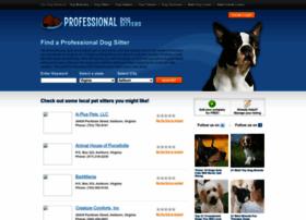 professionaldogsitters.com