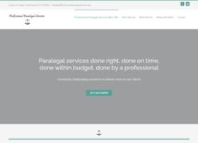 professionalparalegalservices.org