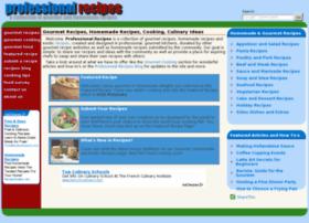 professionalrecipes.com
