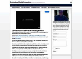 professionalsocialpromotion.com
