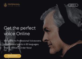 professionalvoiceovers.com