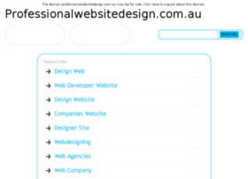 professionalwebsitedesign.com.au