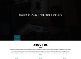 professionalwriterskenya.com