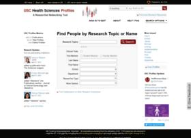 profiles.sc-ctsi.org