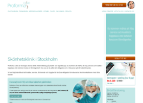 proformaclinic.se