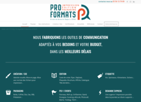 proformats.com