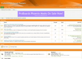 proforumposters.proboards.com
