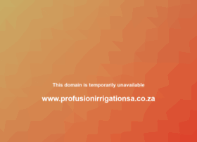 profusionirrigation.co.za