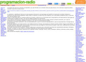 programacion-radio.com