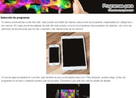 programaspara.es
