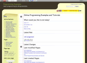 programmingexamples.wikidot.com
