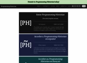 programminghistorian.org