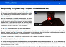 programminghomeworkshelp.com