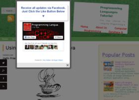 programminglanguagestutorial.blogspot.com