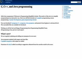 programmingsimplified.com