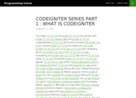 programmingsolver.com