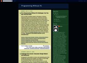 programmingwithoutifs.blogspot.com