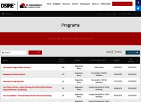 programs.dsireusa.org