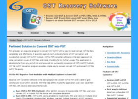programtoconvertosttopst.ostrecoverysoftware.com
