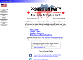 prohibitionists.org
