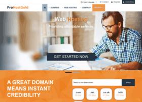prohostgold.com