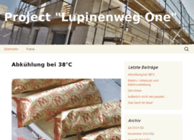 project-lupinenweg-one.de