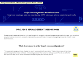 project-management-knowhow.com