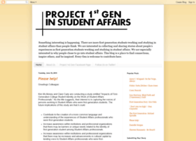 project1stgen.blogspot.com