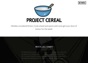 projectcereal.wordpress.com