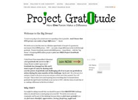 projectgratotude.com