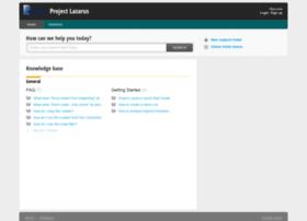 projectlazarus.freshdesk.com