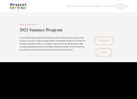 projectletsgo.org