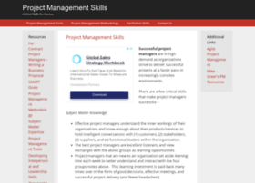 projectmanagementskills.info