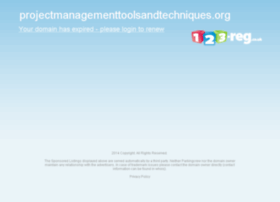 projectmanagementtoolsandtechniques.org