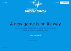projectnewsky.com