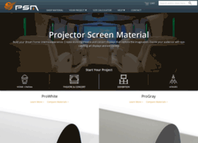 projector-screen-material.co.uk