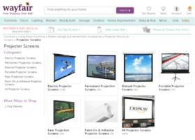 projectorscreensdirect.com