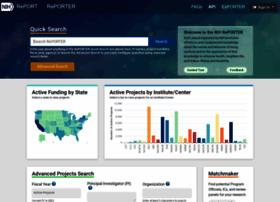 projectreporter.nih.gov