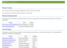 projects.dmoz.org