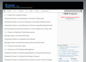 Projects.icbse.com