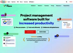 projects.zoho.com