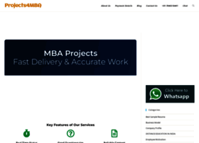 projects4mba.com