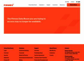 projectsleepcircle.firmex.com