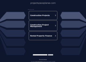 projectspaceplanes.com