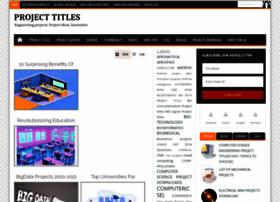 projecttitles4free.com