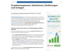 projektmanagement-definitionen.de