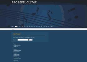 prolevelguitar.com