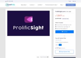 prolificsight.com