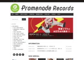 promenaderecords.com